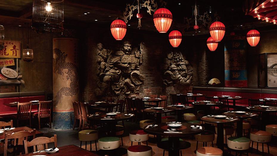 舞浜駅直結のイクスピアリにある中華レストラン「青龍門」