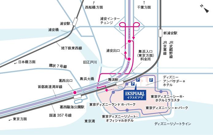 東京 ディズニー シー アクセス